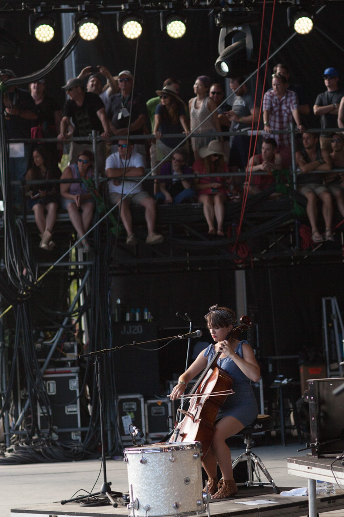 The Lumineers, Firefly Music Festival, Sioux Nesi photograph